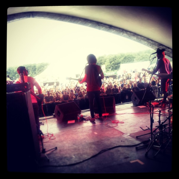 Glass Caves at Leeds Festival